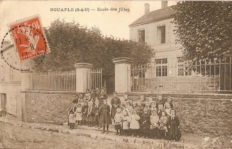 Bouafle-cole-des-filles-actuellement-la-Poste