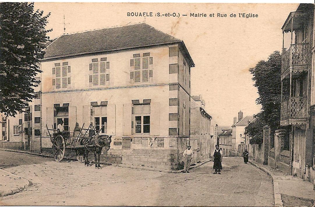 Bouafle-mairie-et-rue-de-lglise