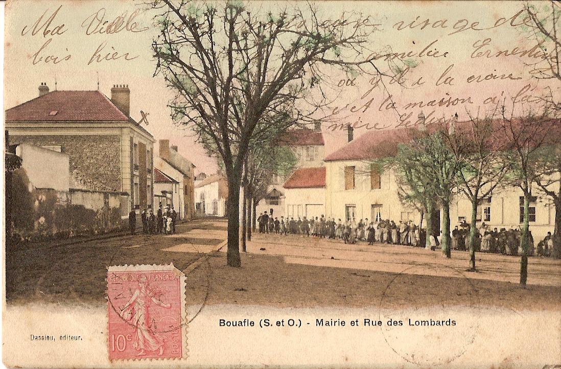Bouafle-place-Erambert-anime-et-rue-des-Lombards