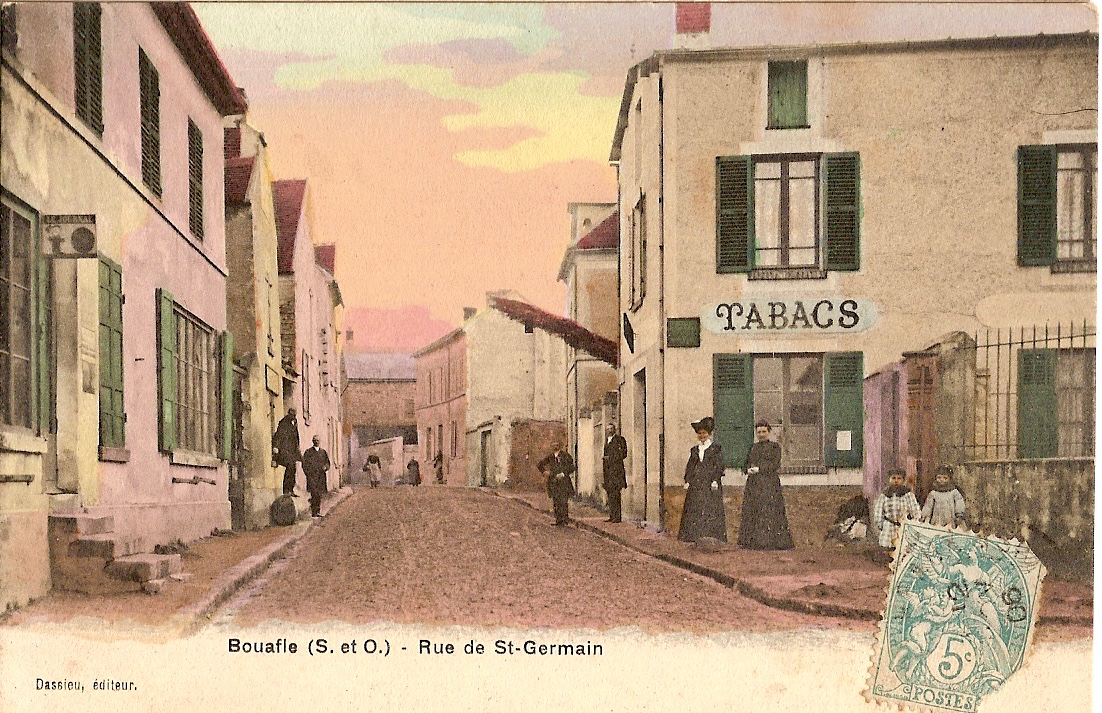 Bouafle-rue-de-Saint-Germain-colorise