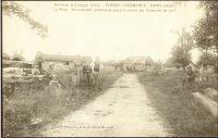 Dives-hameau-de-Plessis-Cacheleux-baraquements-aprs-le-dpart-des-Allemands-en-1918