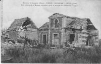 Dives-hameau-de-Plessis-Cacheleux-rue-principale-et-maisons-ruines-aprs-la-retraite-allemande