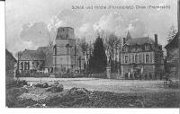 Dives-lglise-et-le-chteau-schloss-und-kirche-vers-1916-carte-Allemande-2