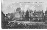 Dives-lglise-et-le-chteau-schloss-und-kirche-vers-1916-carte-Allemande