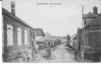 Dives-rue-principale-aprs-reconstruction-vers-1924