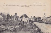Dives-rue-principale-en-ruines